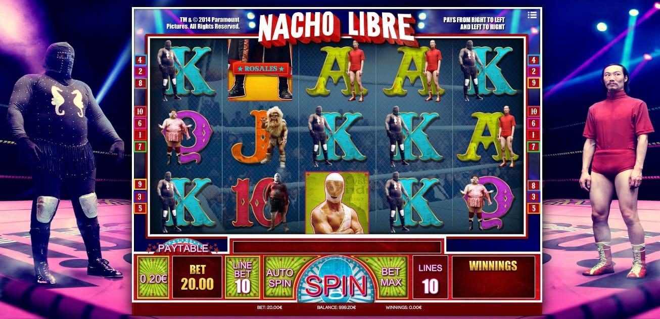 Nacho Libre Slots Online