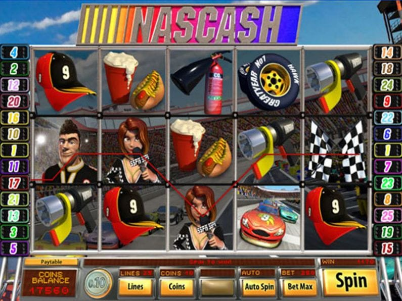 Nascash Slots Gameplay