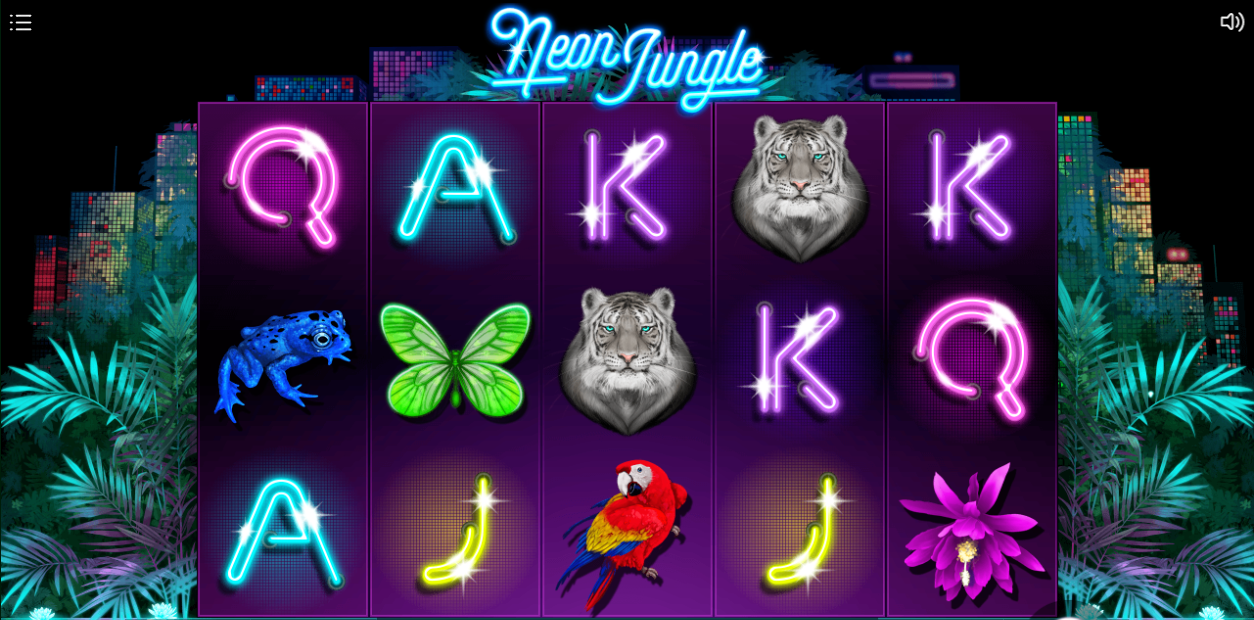 Neon Jungle Slots Online