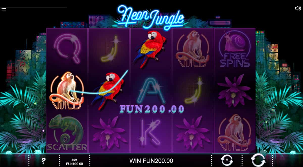 Neon Jungle Casino Games