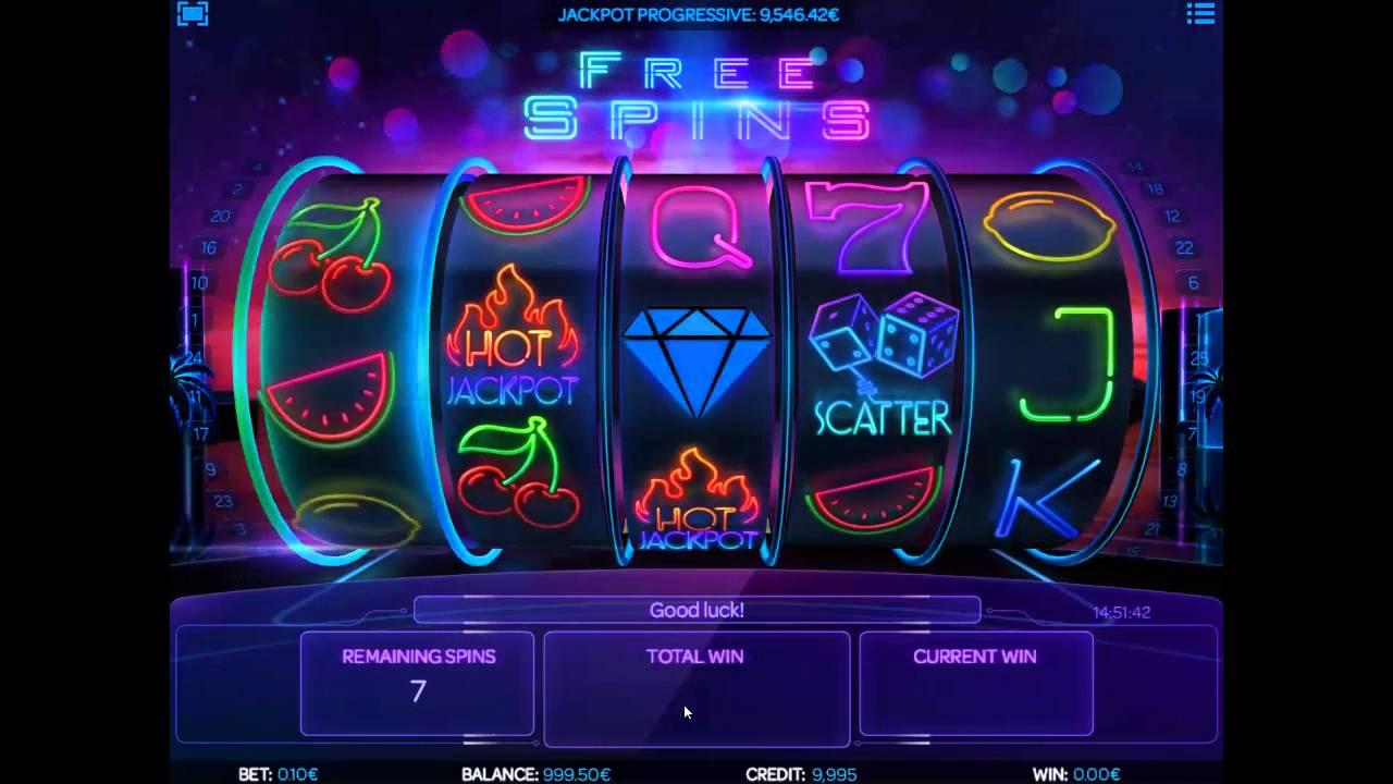 Neon Reels Slots Online