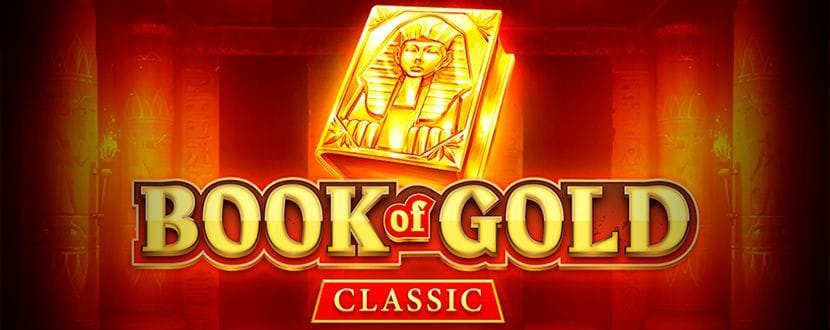 book of gold classic video slot logo