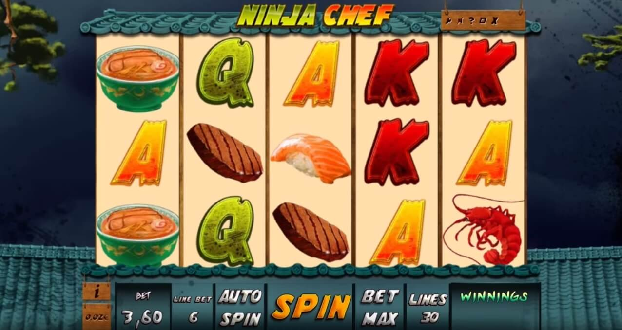 Ninja Chef Slots Online