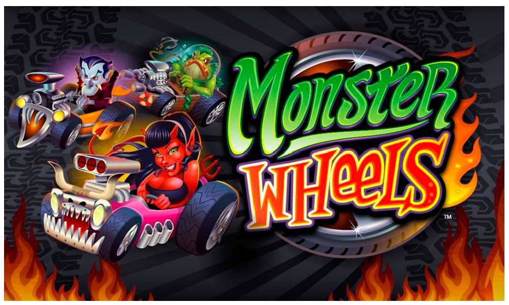 Monster Wheels Slots Mega Reel