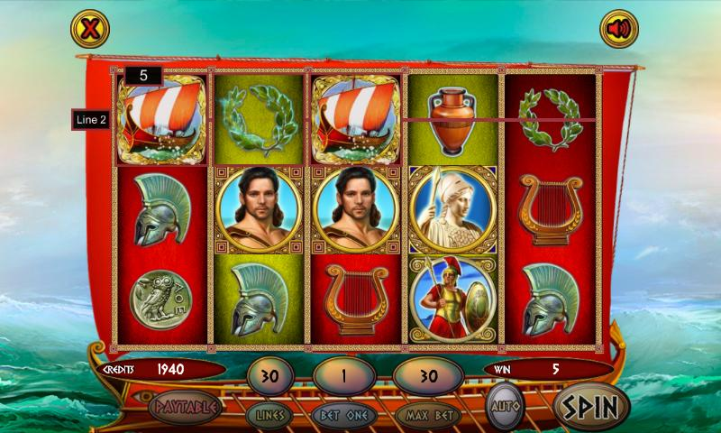 Odysseus slots Game Play