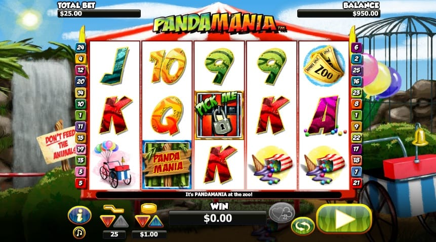 pandamania slots game online play