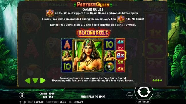 panther queen game online play