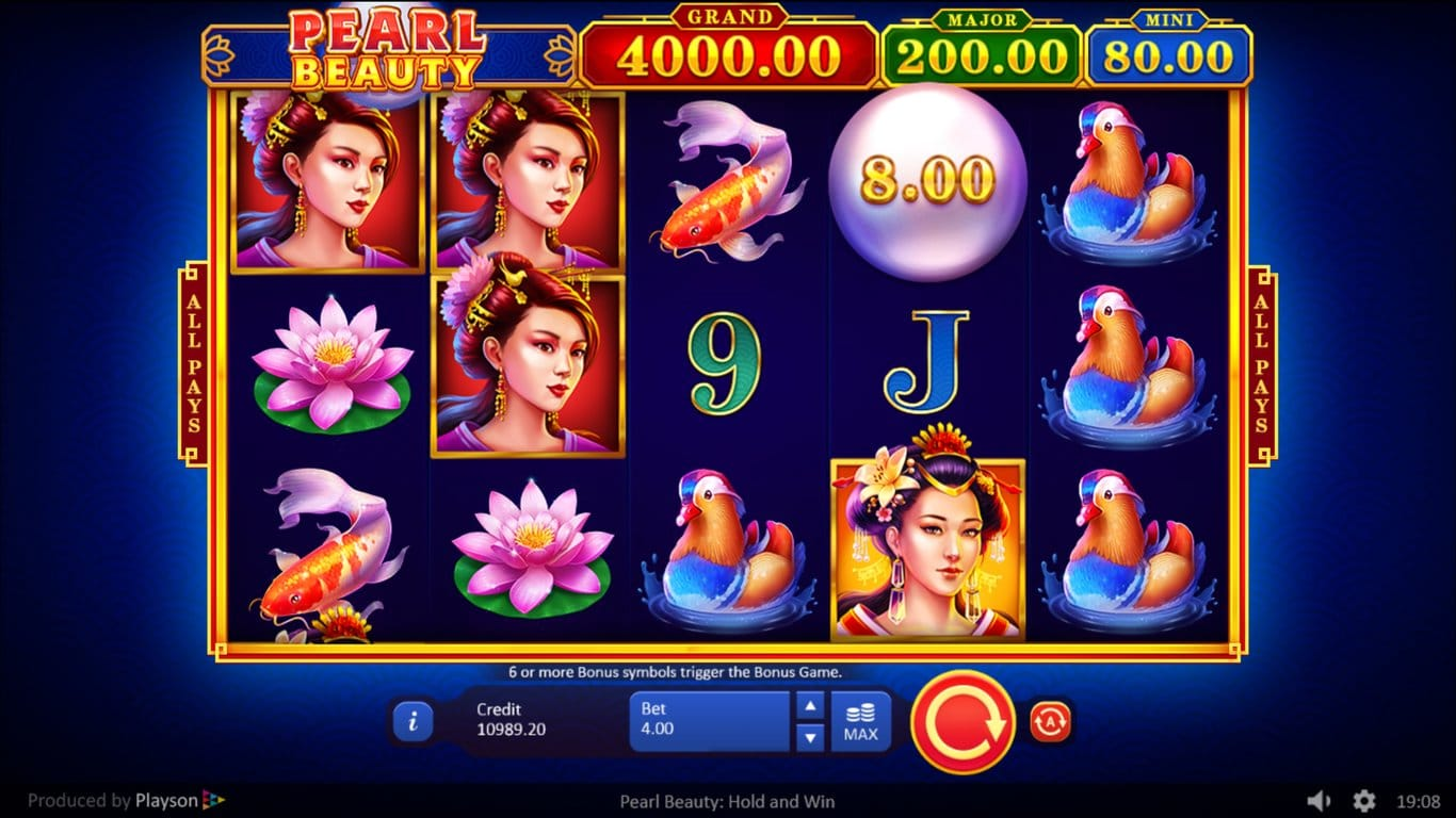 Pearl Beauty Hold and Win Slots Online