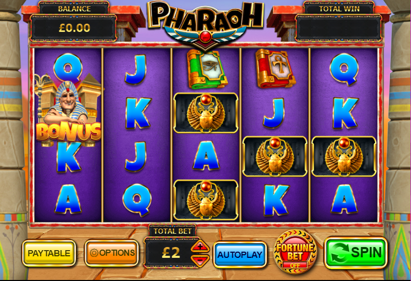 Pharaoh Gameplay