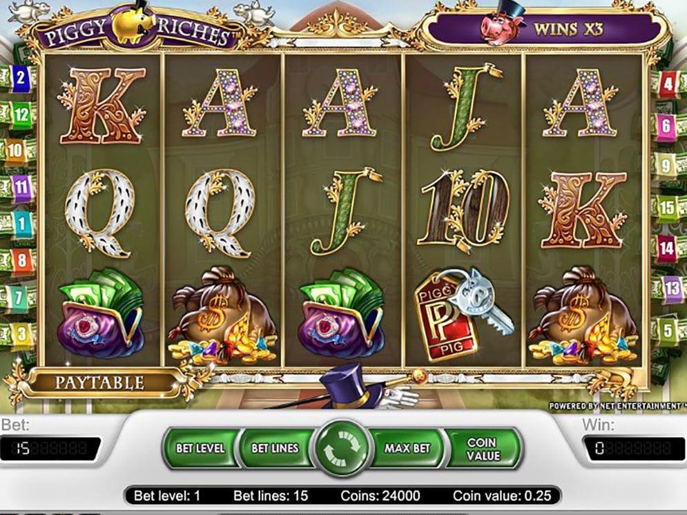 Piggy Riches Slots UK Online