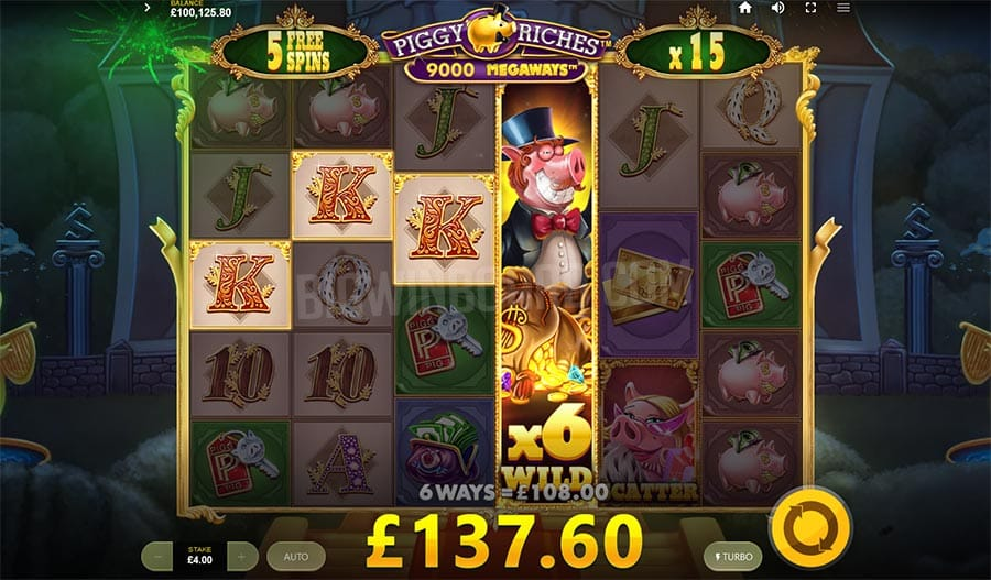 Piggy Riches Megaways Free Slots