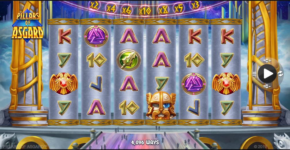 Pillars of Asgard Slots Game