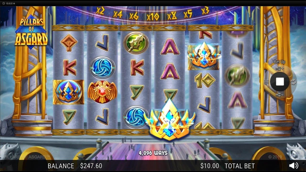 Pillars of Asgard Slots Online
