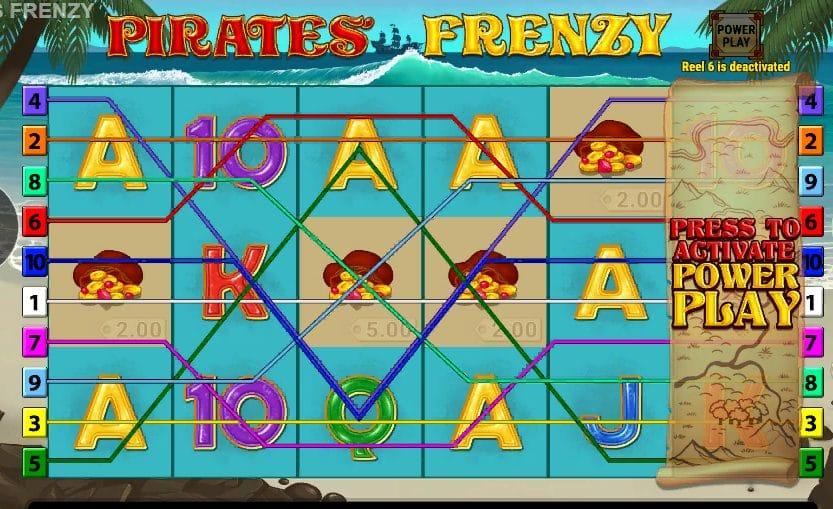 Pirates Frenzy Slots