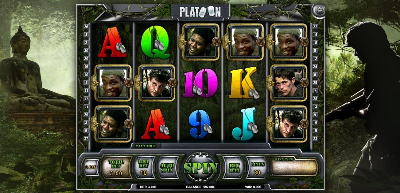 Platoon Slots Online