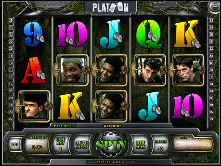 Platoon Casino Game