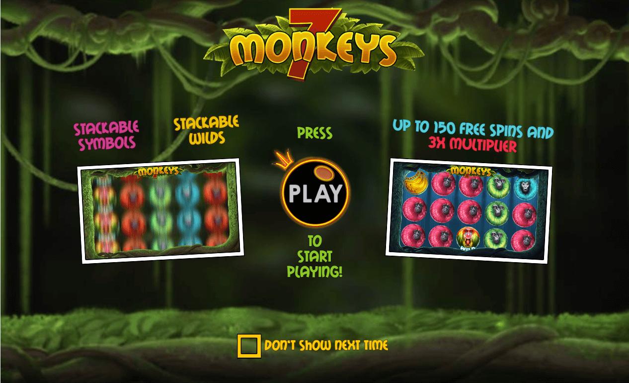 7 Monkeys slot introduction