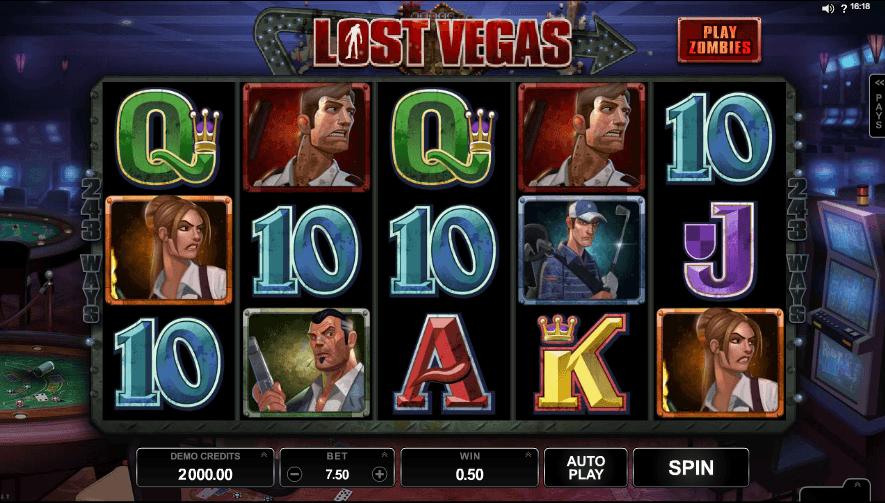 Lost Vegas Free Slots