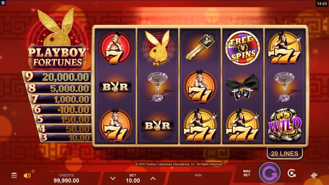Playboy Fortunes Slot Online
