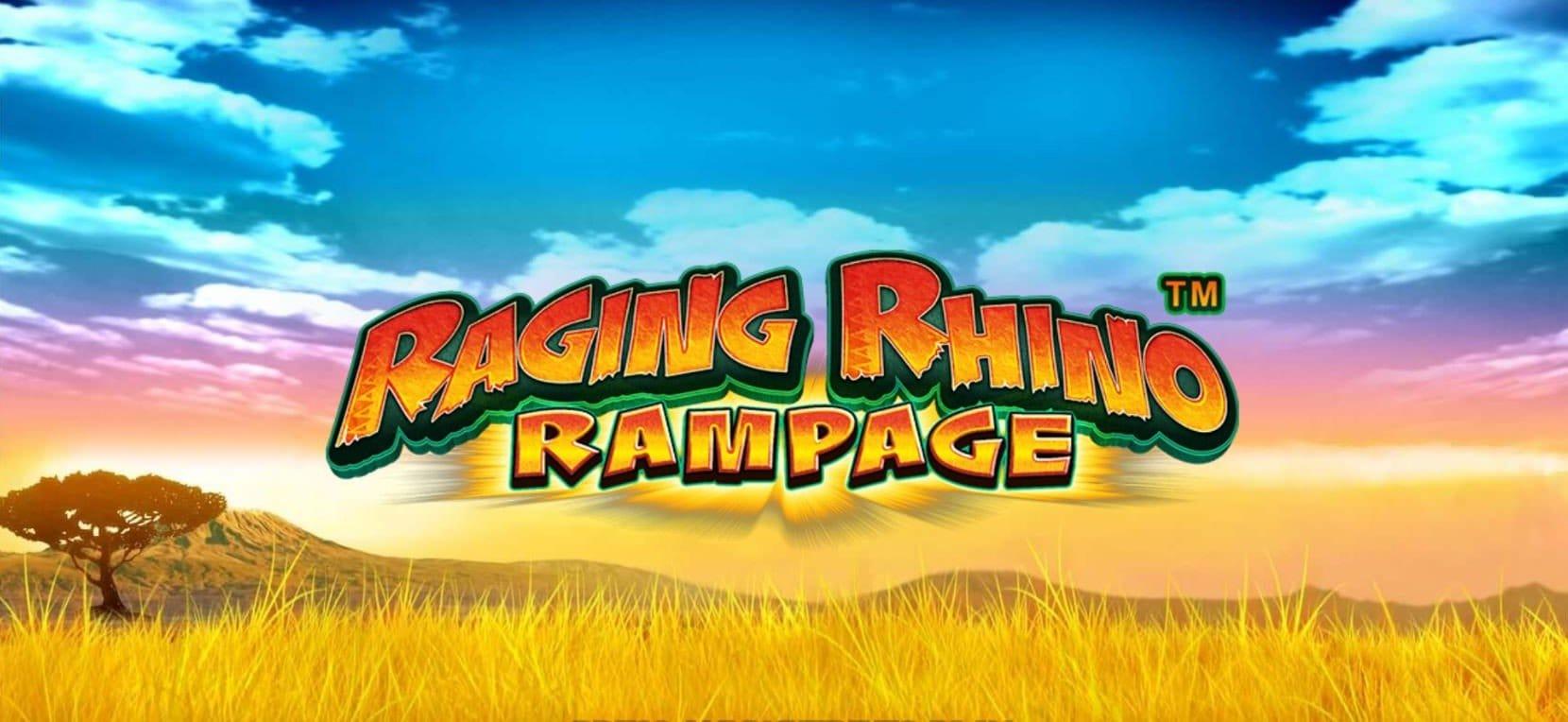 Raging Rhino Rampage Logo Mega Reel