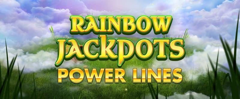 Rainbow Jackpots Power Lines Slots Mega Reel