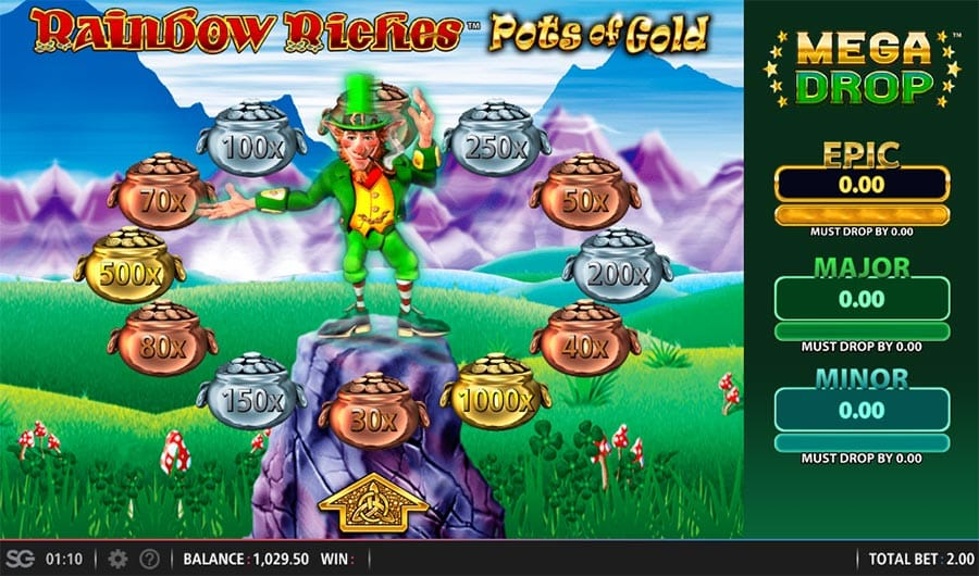 Rainbow Riches Pots of Gold Slots UK