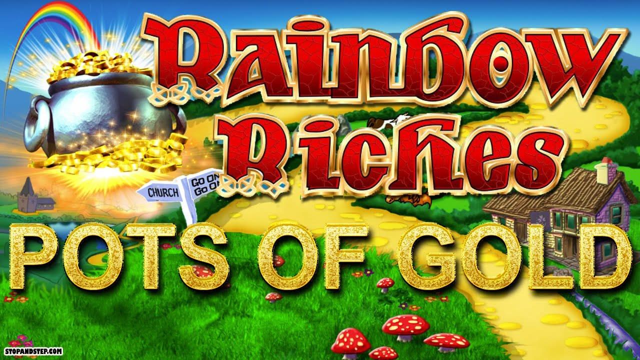 Rainbow Riches Pots of Gold Slots Mega Reel