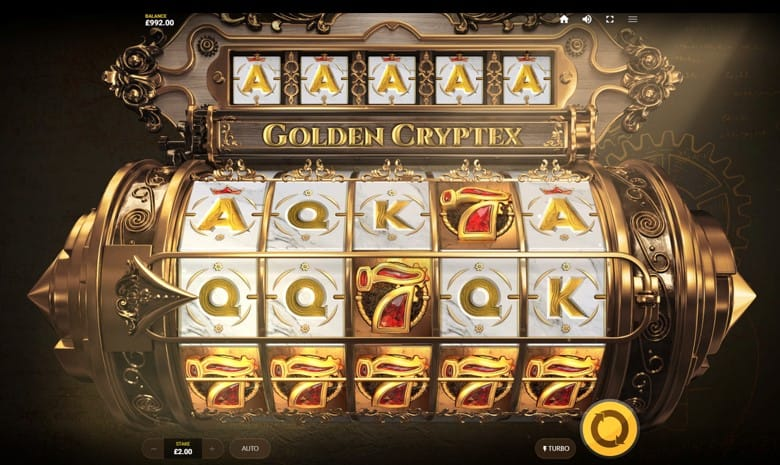 Golden Cryptex Slots Game