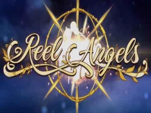 Reel Angels Slots Logo Mega Reel