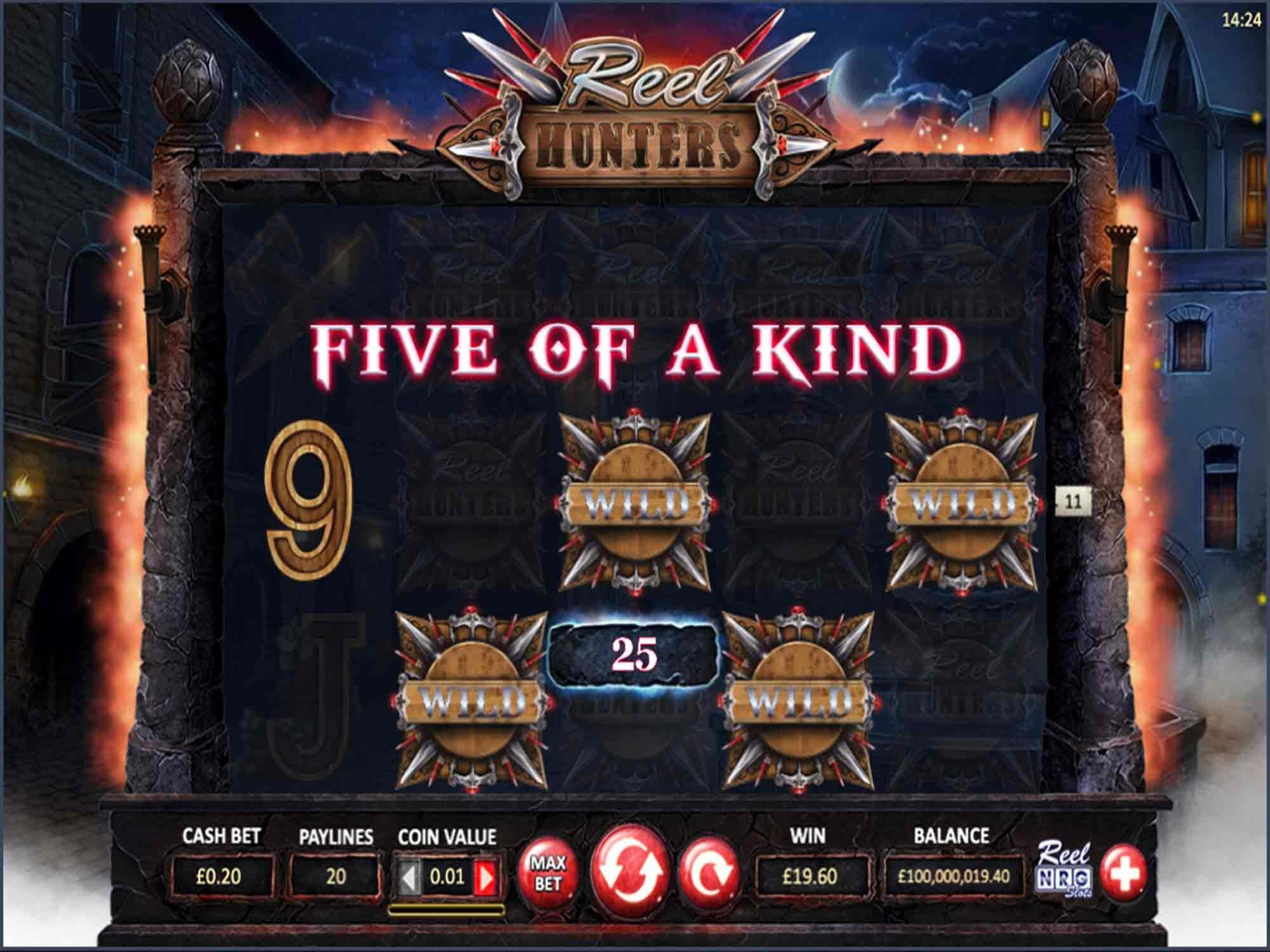 Reel Hunters Slot Reels