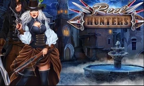 Reel Hunters Slot Logo Mega Reel