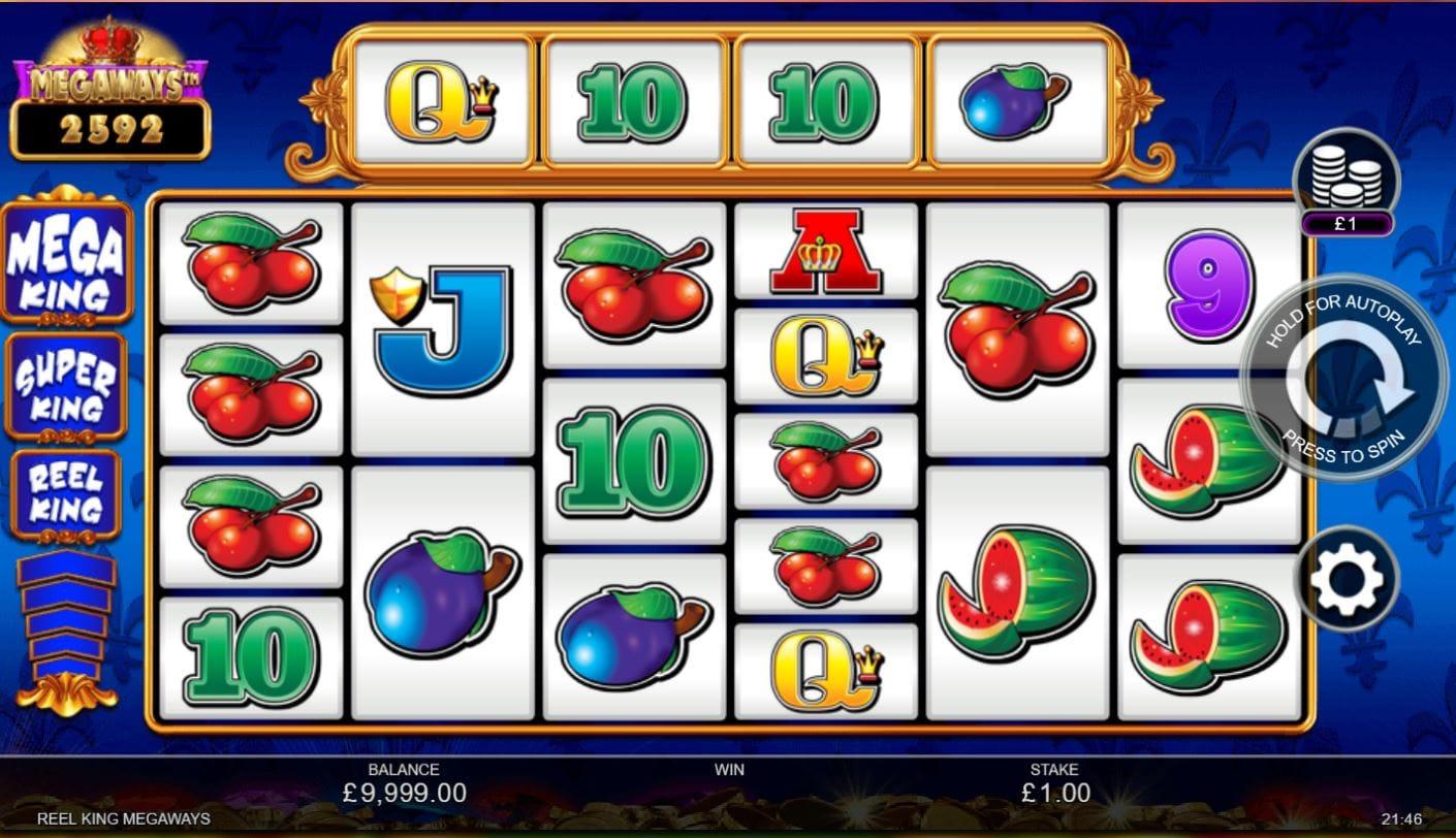 Reel King Megaways free Slots