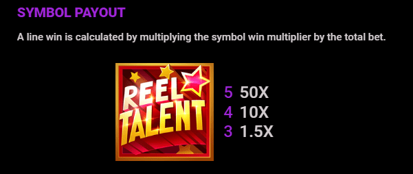 Reel Talent Symbols