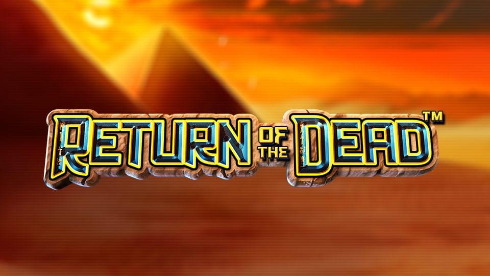 Return of the Dead Slot Logo Mega Reel