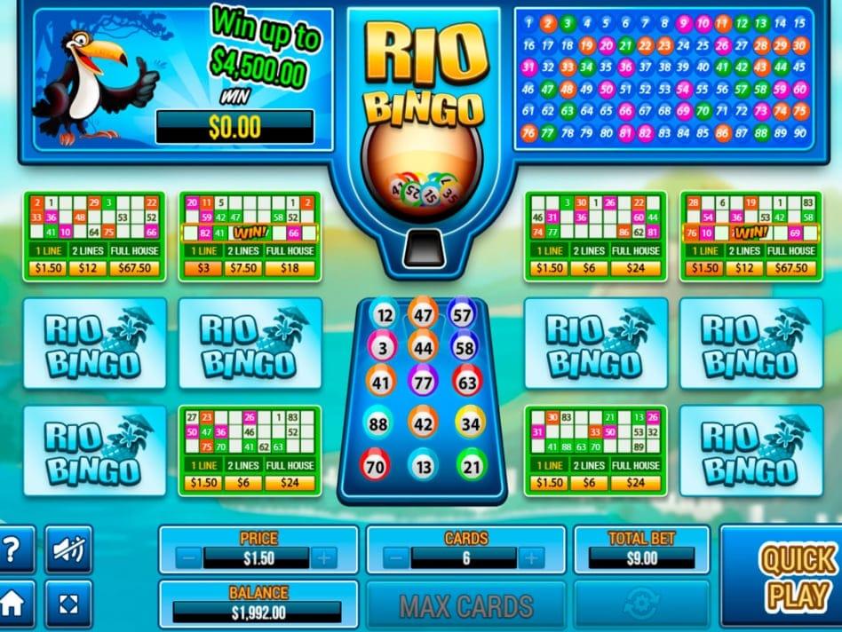 Rio Bingo Top Bingo