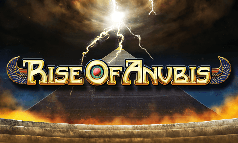 Rise of Anubis Slot Logo Mega Reel