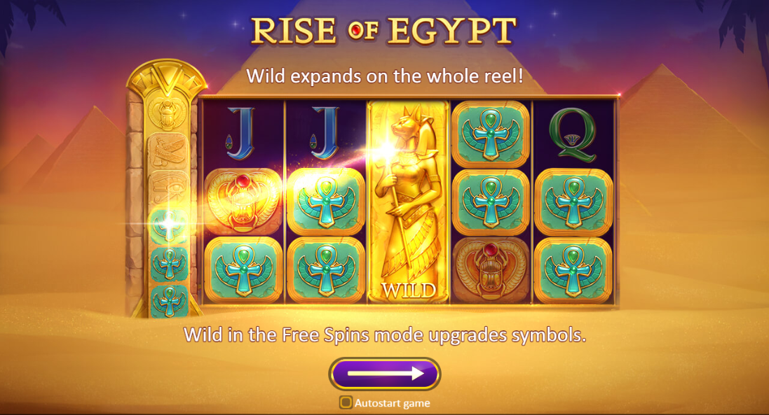 Rise Of Egypt Logo
