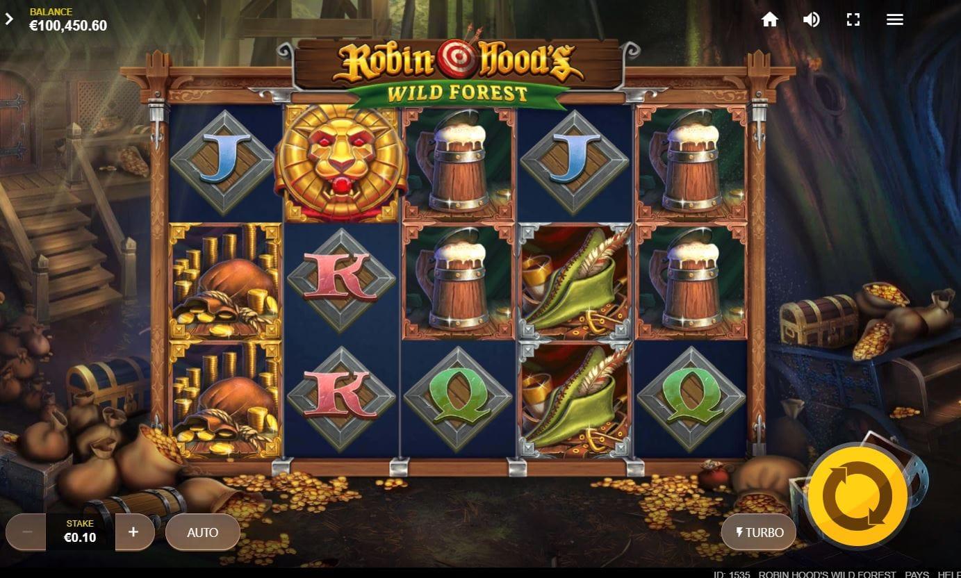 Robin Hood's Wild Forest Slots Online