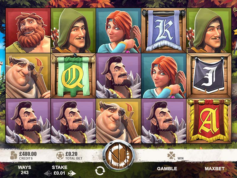 Robin of Sherwood Slot Game