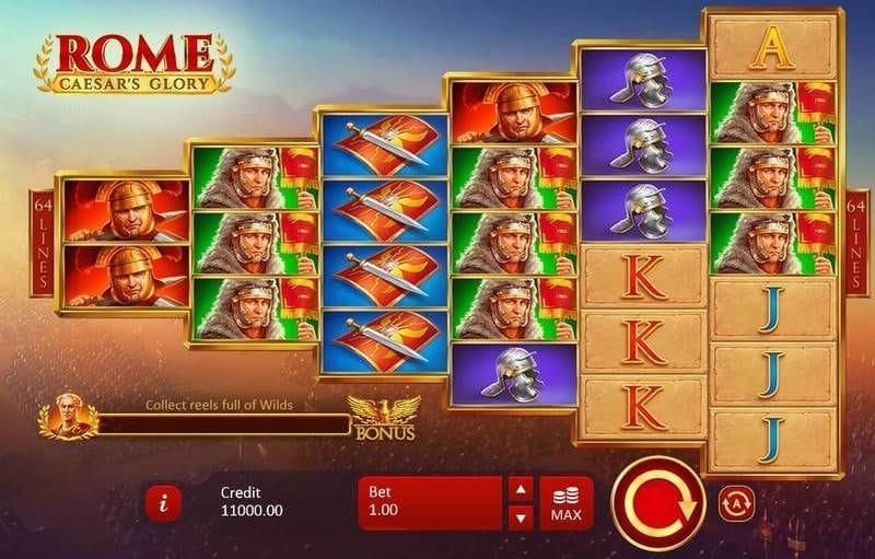 Rome: Caesar's Glory Free Slots