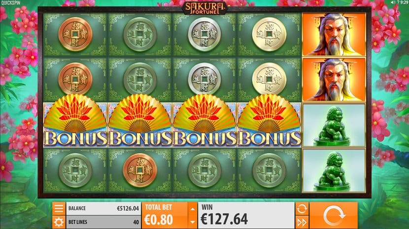 Sakura Fortune Slots UK