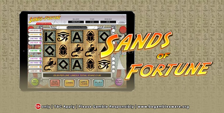 sands of fortunes slots play online