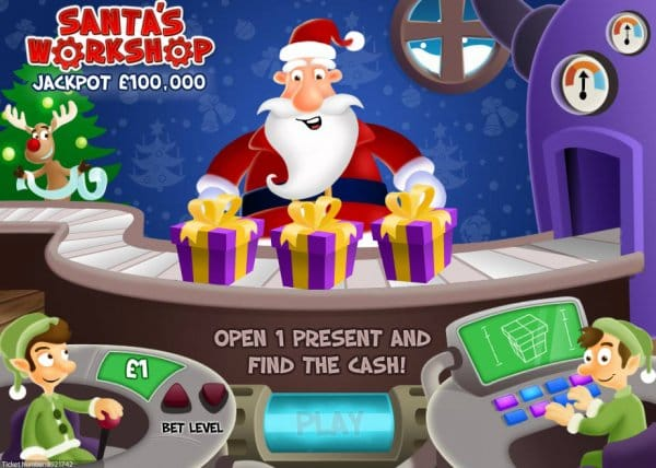 Santa's Workshop Casino Game