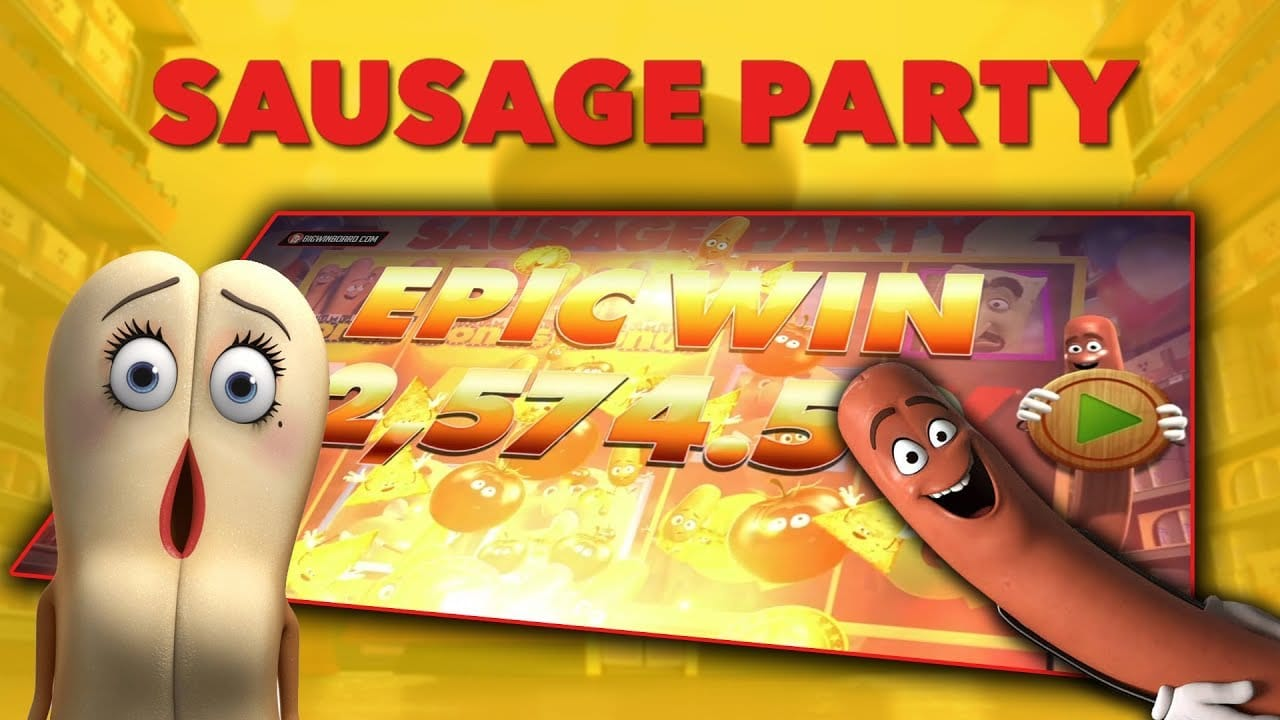 Sausage Party Slots Mega Reel