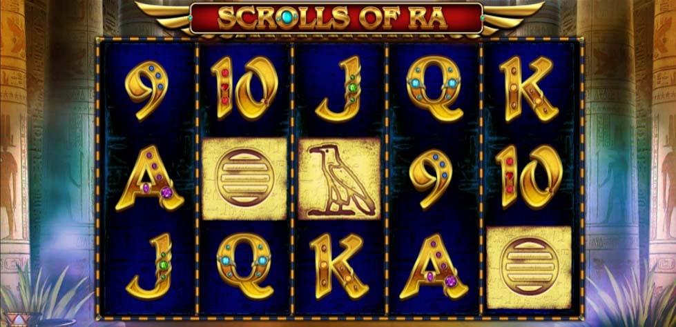 Scrolls of Ra Slots Uk