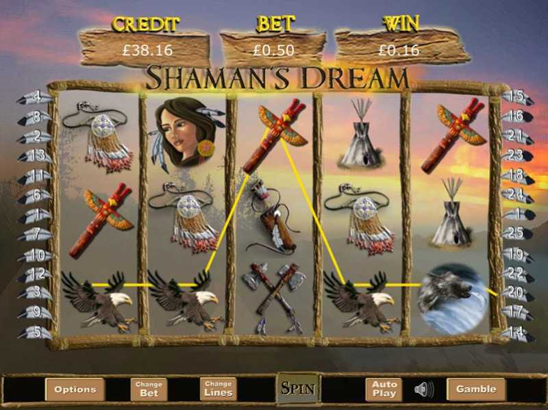Shamans Dream Casino Slot