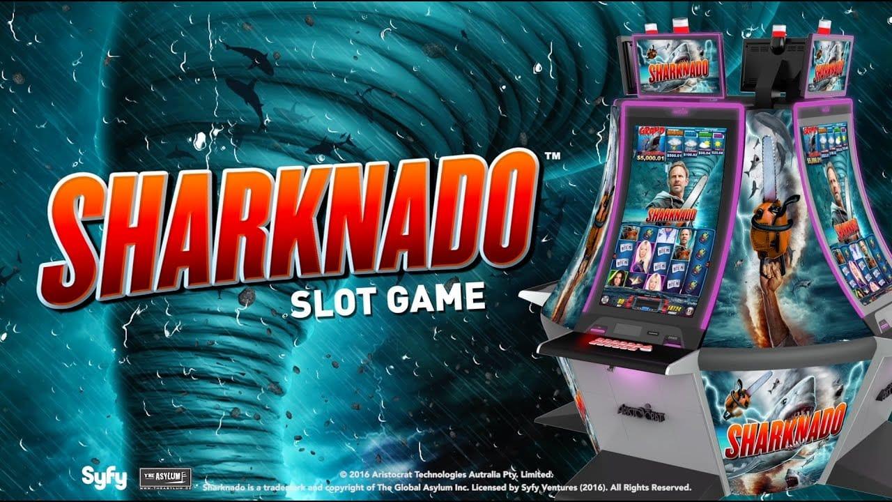 Sharknado Slots Mega Reel