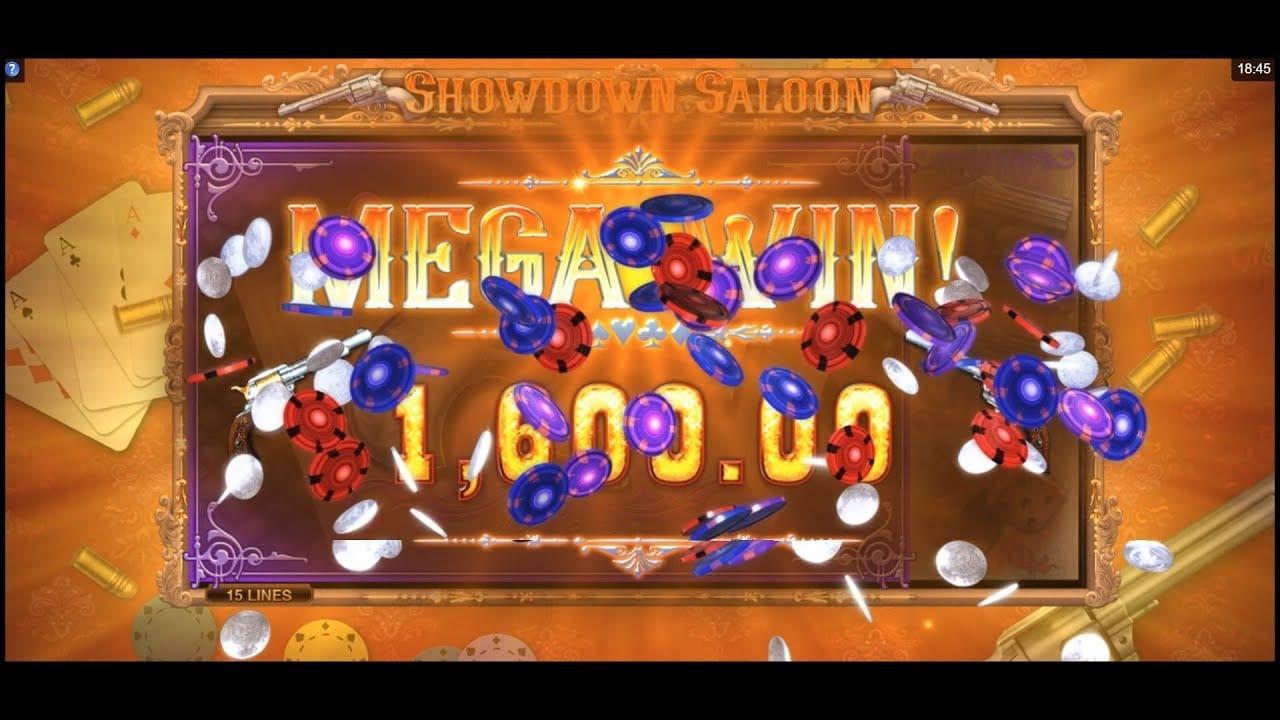 Showdown Saloon Mega Win