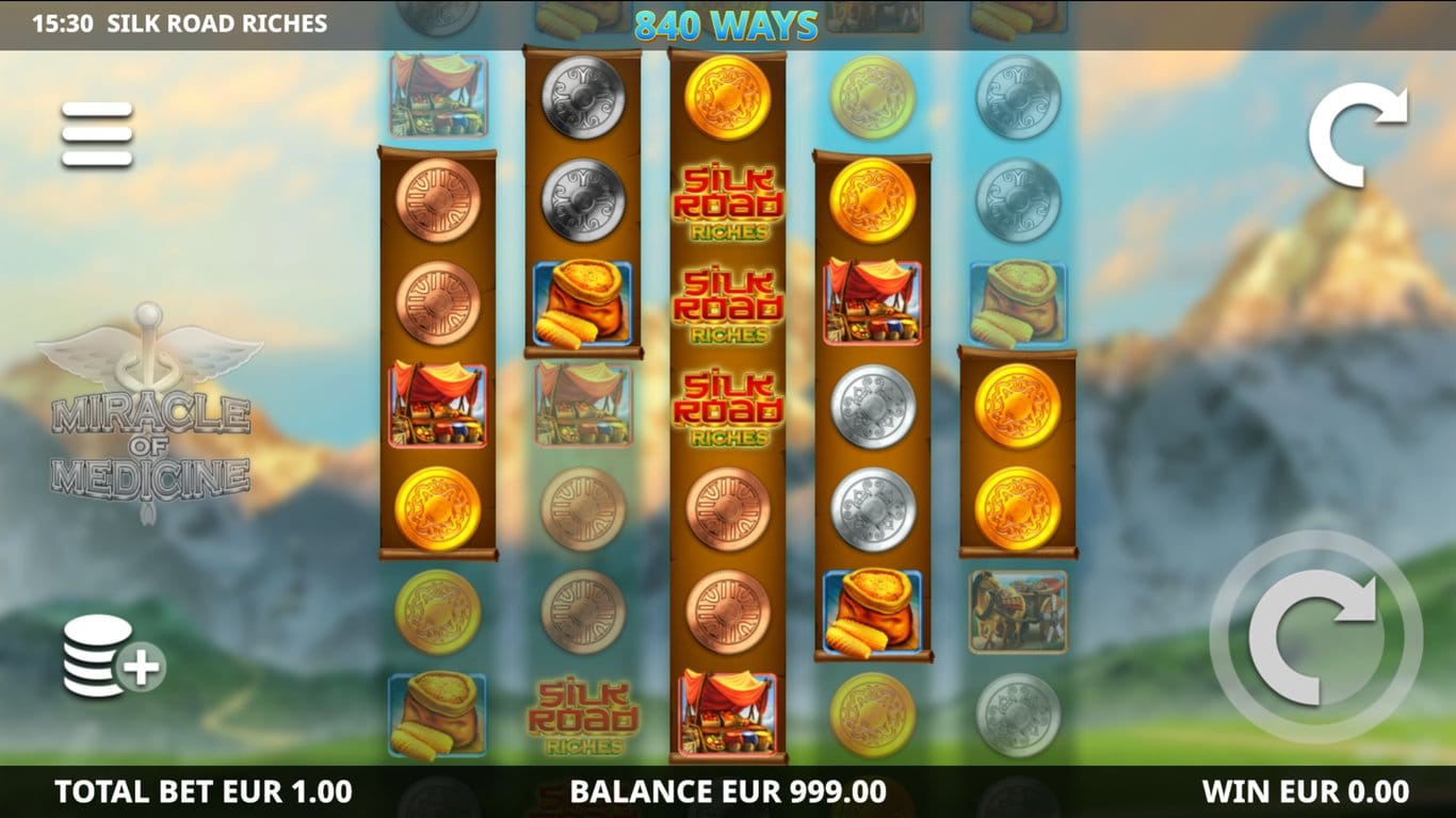 Silk Road Riches Slot Gameplay