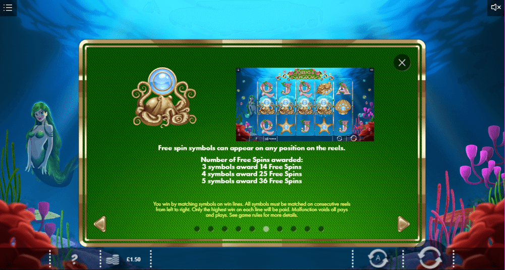 Sirens Kingdom Symbols